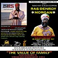 Ras Denroy Morgan - The Value of Family on The Black and White Radio Show Pt. 3 of 4