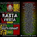 RASTA FIESTA MIX TAPE-SELECTA HERBALIST - REGGAE SHOP 12 YEARS TRIBUTE