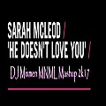 Sarah McLeod - He Doesn't Love You (DJ Mixmen MNML Mashup 2k17)