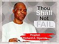 Though Shall Not Fail by Prophet Ogunole