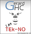 Gerard HC - I AM TEk-NO (Tech Summer Set '12)
