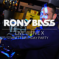 RONY BASS LIVE@FIVE X - ANETT BDAY PARTY - 2017-09-29