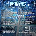 Alex Di Stefano Live @ Trance Sanctuary 7th Birthday @ Egg, London UK 10-03-2018