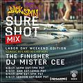 MISTER CEE SURE SHOT MIX BACKSPIN SIRIUS XM 9/2/17