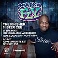 MISTER CEE MEMORIAL FLY MIX SIRIUS XM FLY 5/28/17