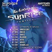 Sunrise Festival 2016 - The History Of Sunrise - Dzien III [Sety Amfiteatr] (24.07.2016)