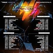 Sunrise Festival 2016 - Dzien II [Sety Parking] (23.07.2016)
