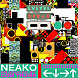 Neako   ← ↓→ ↑ (Left, Down, Right, Up) (Prod. By Com Truise)