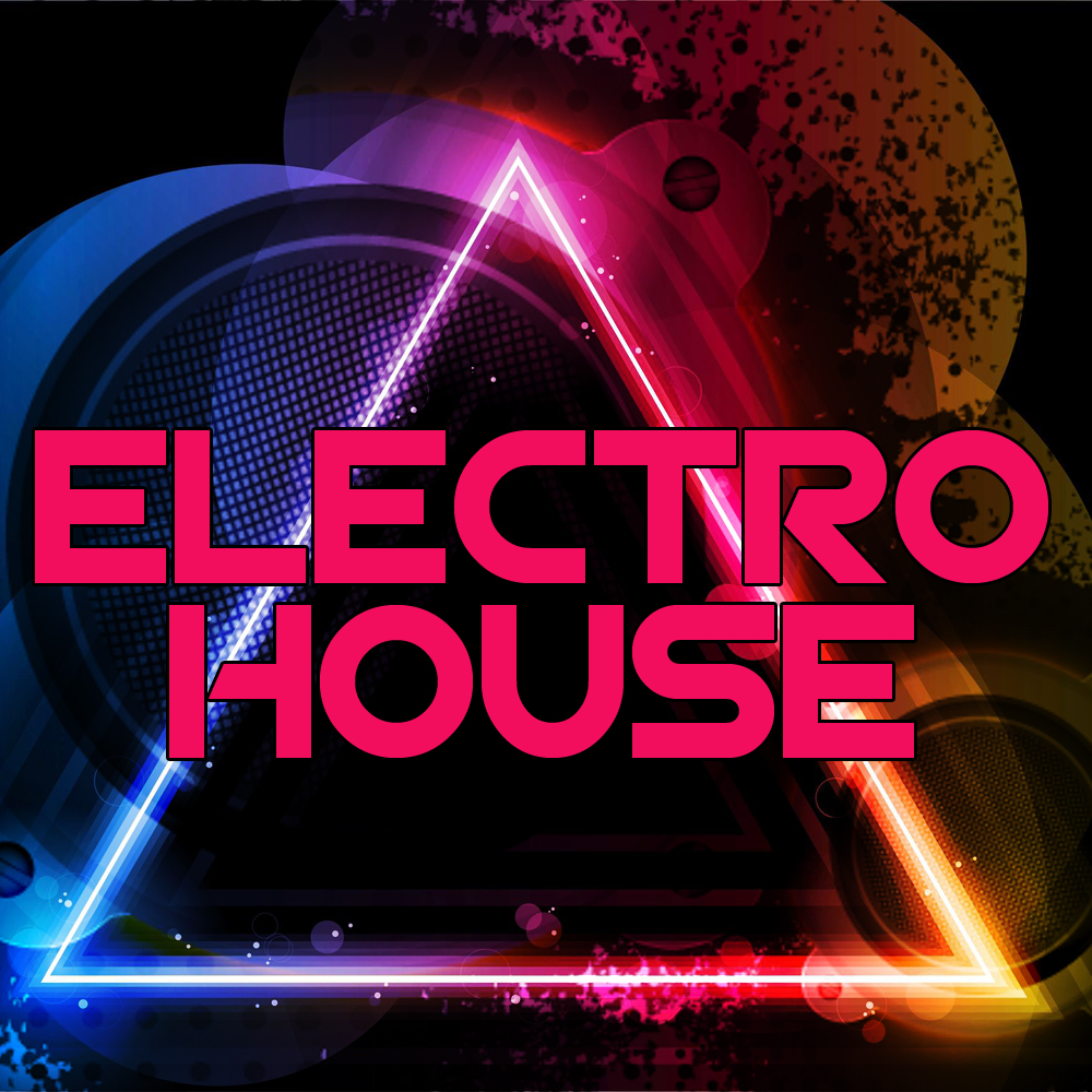 Electro house music logo images for House music maker