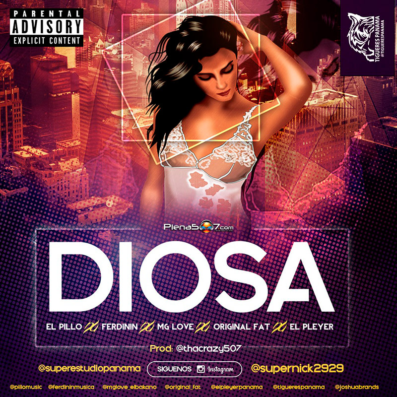 Ferdinin X El Pleyer X Original Fat X Mg Love X El Pillo - Diosa Prod. Da Crazy