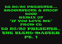 15 - If You Love Me - A DJ 20-20 Blend-Messiah Remix (Love On Another Level)